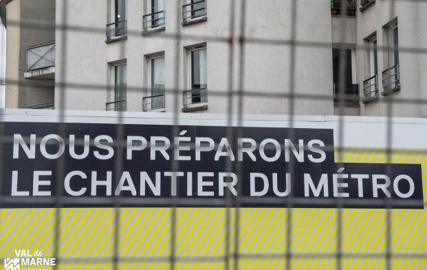 Travaux du Grand Paris Express - démolition de bâtiments - Villejuif-Louis Aragon - 08 mars 2016