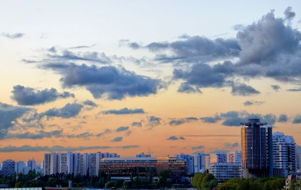 Sunset@Créteil - 21 avrl 2012